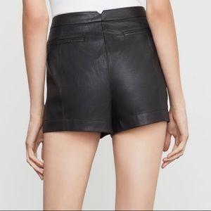 BCBGMAXAZRIA Yazzy Faux Leather Short
